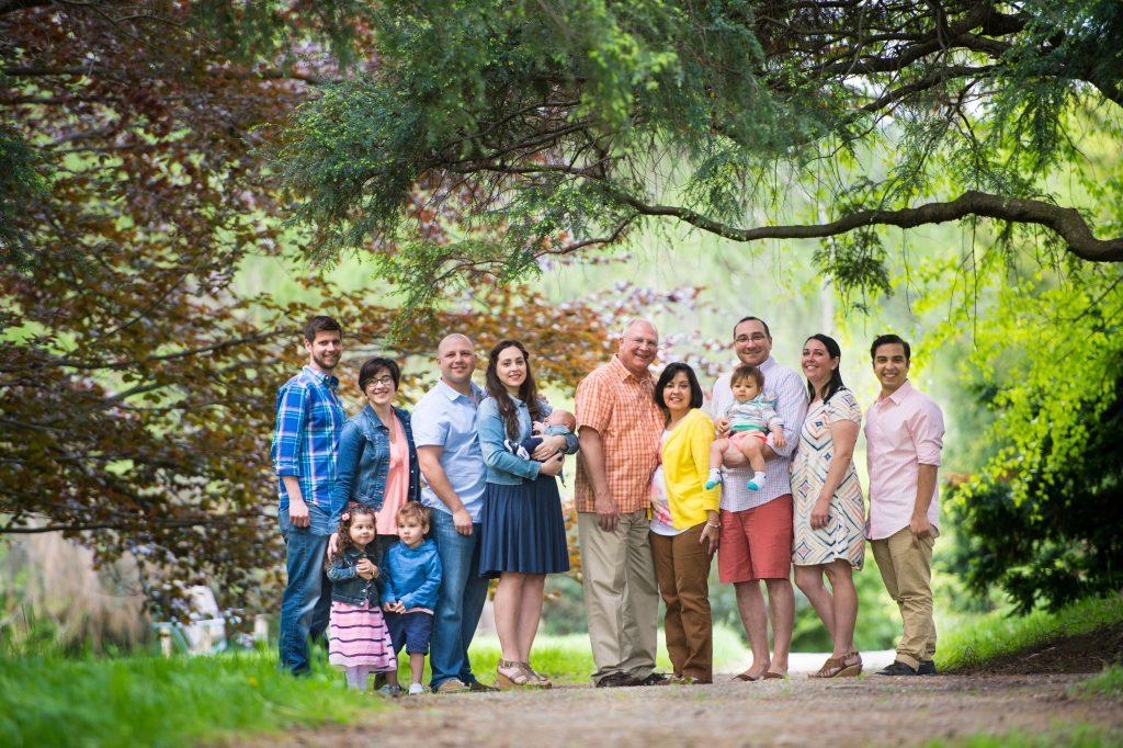 31 Baez family portraits