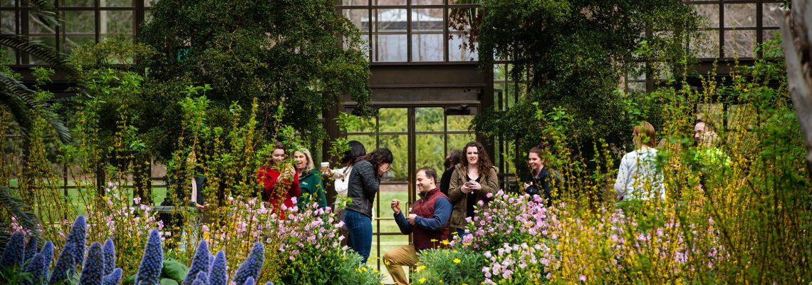 Chris & Megan's Surprise proposal | Longwood Gardens, Kennett Square PA