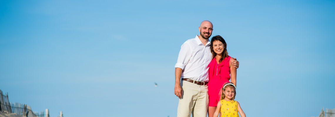 Shughart family | Tower Beach, Bethany DE